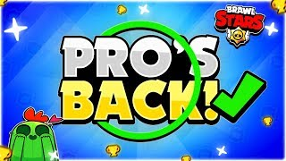 PRO'S BACK!! - Why This Pro Player Is Back From Quitting Brawl Stars & Going For #1 + Pro Gameplay!
