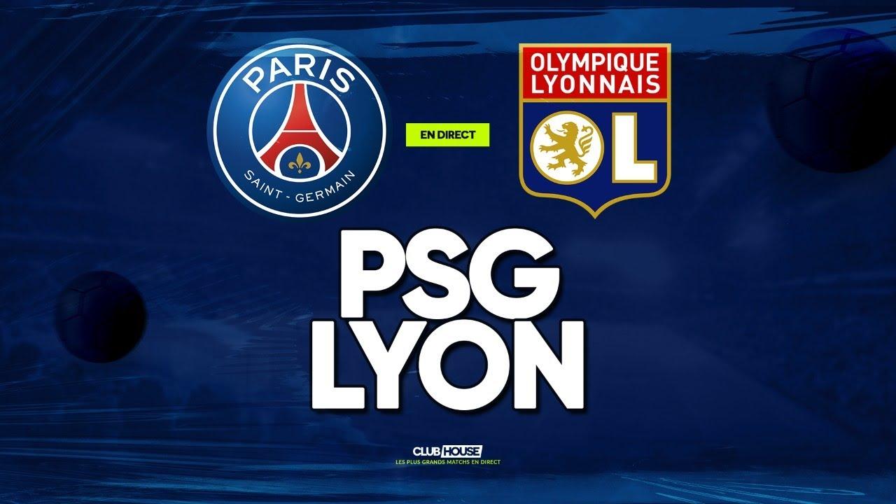 Match en cours Paris Saint-Germain - OL