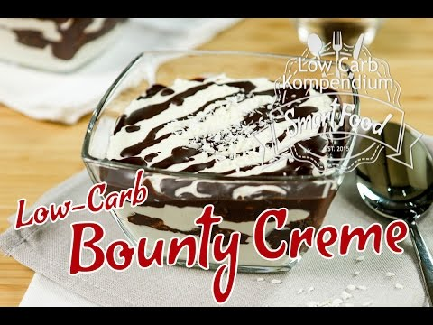 Bounty Creme Das Low Carb Dessert Passend Zum Low Carb Bounty