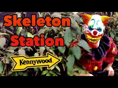Kennywood - POV Skeleton Station Phantom Fright Nights 2017
