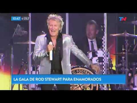El show especial de Rod Stewart en Argentina por el Día de los Enamorados