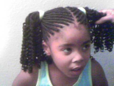 Lil Braids 4 Lil Girls Youtube