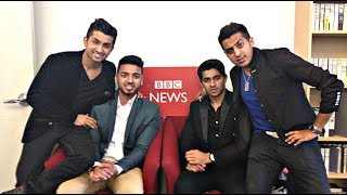 Dhoombros interview at BBC Asian Network with Noreen Khan Part 1