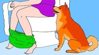 #24 강아지가 여러분을 따라서 화장실에 들어오는 이유