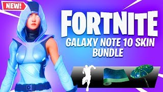 "*NEW* EXCLUSIVE ""DAVINCI"" GALAXY NOTE 10 Skin in Fortnite! (NEW)"