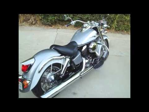 2001 honda shadow ace 750 deluxe for sale youtube. Black Bedroom Furniture Sets. Home Design Ideas