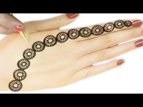 Most Easy & Beautiful Jewellery Mehndi Design - एकदम आसान मेहँदी - New Mehndi By Sonia Goyal #662