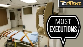 Top 10 Countries Known for Executions
