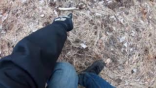 Woods scavenging 3 - Potential murder weapon found - STILLFIN