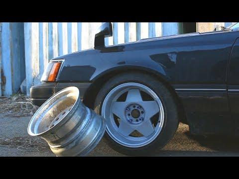 Сколько стоят КАСТОМ диски на старый JDM? Толковые колеса на NISSAN LEOPARD (Не BORBET)