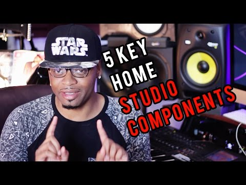 The 5 Key Home Studio Components | What You Need For A Home Studio