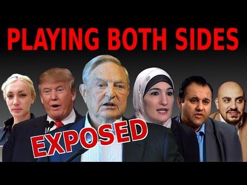 Zionists Playing Islamophobia and Anti-Islamophobia Groups | Linda Sarsour | George Soros EXPOSED