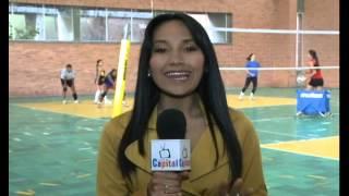Selección Femenina  de Volleyball Sub 20 se prepara para el Panamericano en Cuba.