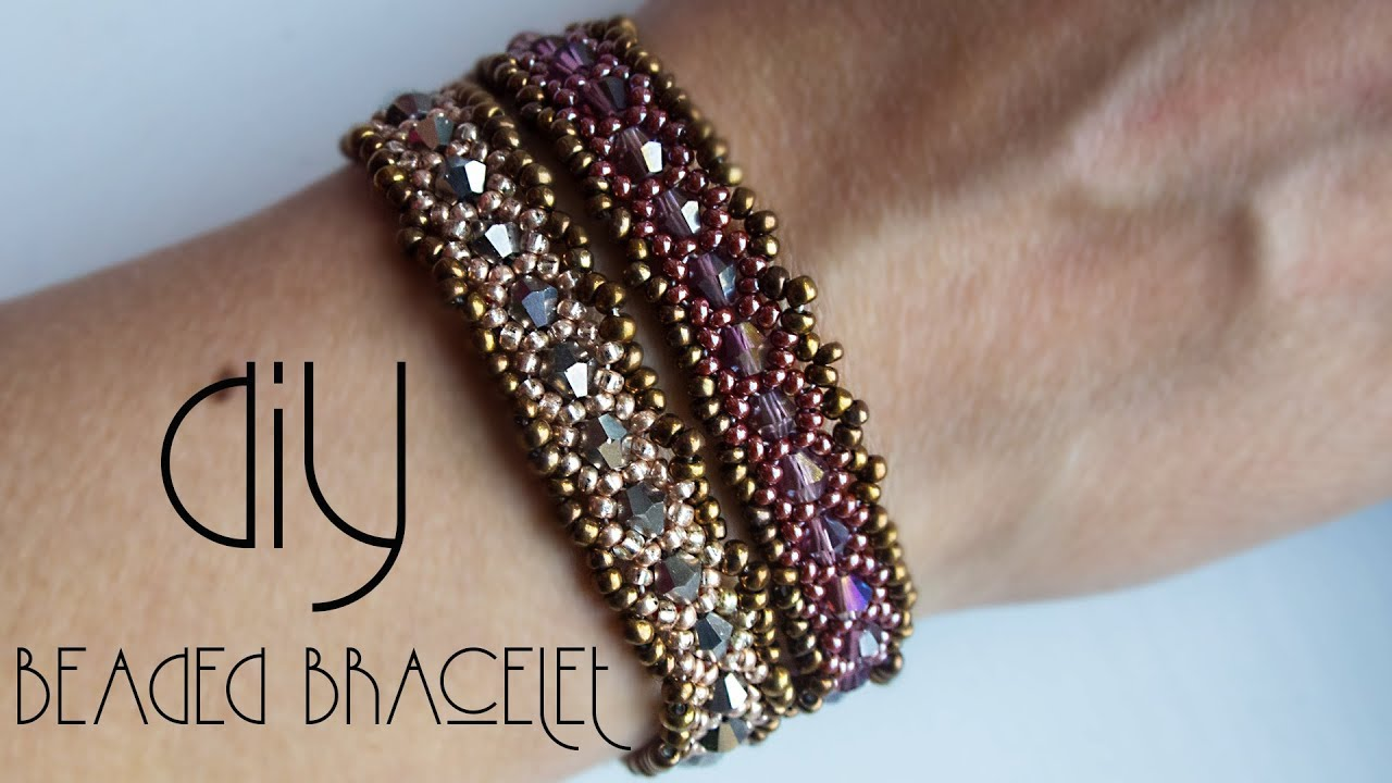 Bracelet How To Make Bracelets Beaded Tutorial Black Pearl