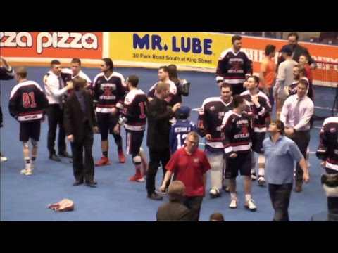Arena Lacrosse League - FINAL: Toronto Monarchs vs Oshawa Outlaws