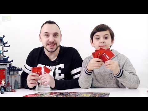 Папа Роб и Ярик играют в настольную игру Ниндзяго!