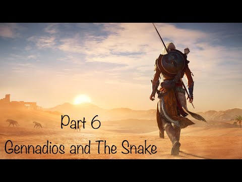 Assassins Creed: Origins - Part 6 - Gennadios and The Snake