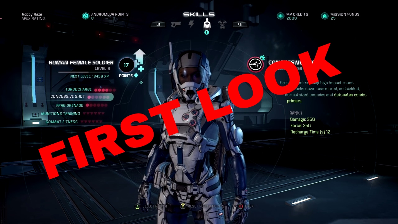 Mass Effect Andromeda Best Biotic Build Multiplayer