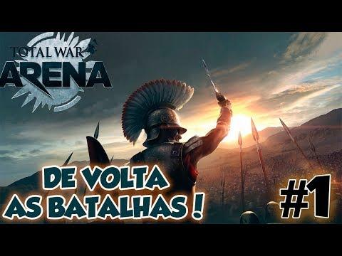 TOTAL WAR ARENA COOP #1 - DE VOLTA AS BATALHAS! / 1080p PT-BR