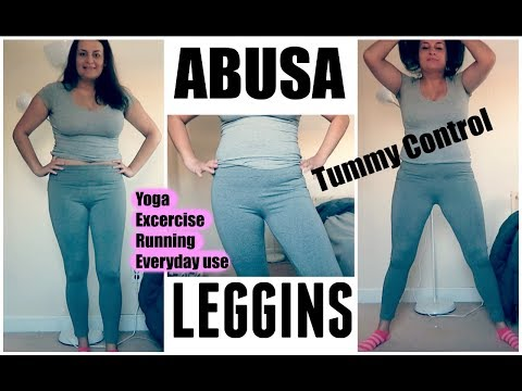 f5df1de872377 Abusa Women's Cotton Workout Ankle Yoga Leggings - Tummy Control Complete  Overview for May 2019 :: ReviewFinch