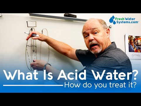What Is Acidic Water And How Do You Treat It?