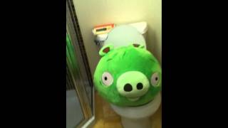 Angry Bird - Toilet Time for Piggy