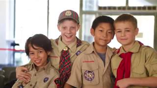 Scouts at Yew Chung International School of Shangh