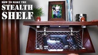 How to make a DIY Concealment shelf for hiding spare keys, money, passports, weapons, or anything else! [✓] Magnetic Locks: http: