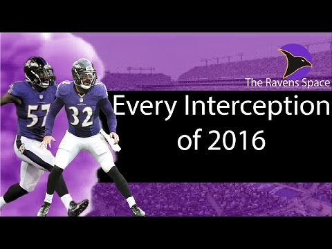 Every Baltimore Ravens Interception of 2016