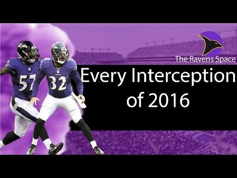 Every Baltimore Ravens Interception of 2016