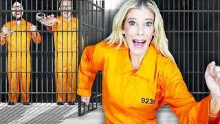 Escaping GMI Prison in GAME MASTER Escape Room in Real Life! | Rebecca Zamolo Video