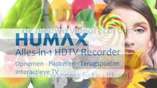 Alles in een HDTV recorder: HUMAX 5200C en 5400C
