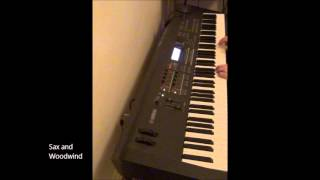 Yamaha MOX Demo - ALL 1217 voices in 100 Minutes !