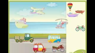 Виды транспорта: воздушный, наземный, водный. Развивающее видео для детей от 2 лет.(Виды транспорта: воздушный, наземный, водный. Развивающее видео для детей от 2 лет - а ваш ребенок знает какой..., 2017-02-08T05:13:05.000Z)