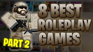 8 BEST ROBLOX ROLEPLAY GAMES TO PLAY IN 2020 PART 2
