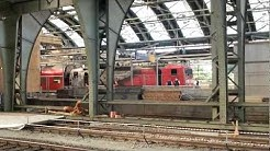 Ausgebrannter Regionalzug in Berlin Ostbahnhof (HD)