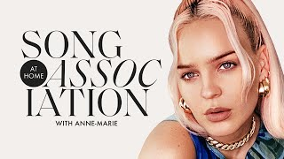 "Anne-Marie Sings Adele, Saweetie, and ""To Be Young"" in a Game of Song Association 