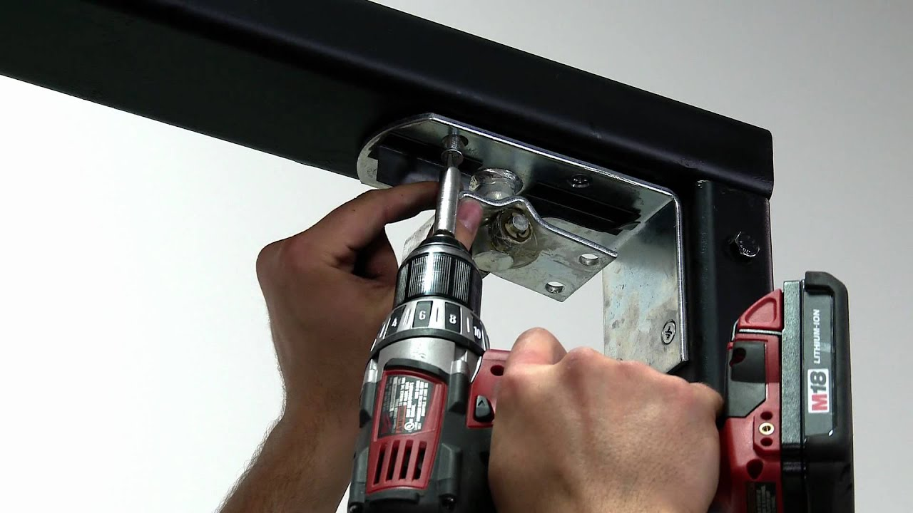 3 Steps To Install An Eliason Easy Swing 174 Door Youtube