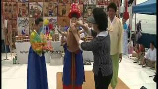 """Shaman Ritual in South Korea""-Kauthukalokam 3,July 2012 Part 2"