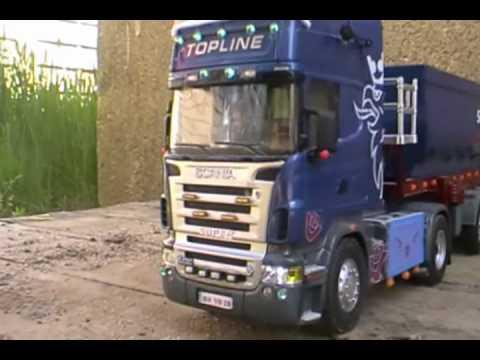 Scania R620 V8 Siku Control - YouTube