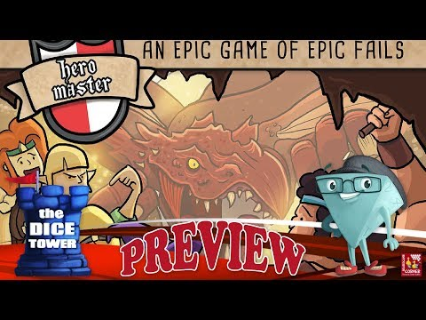 Hero Master: An Epic Game of Epic Fails - The Board Game by Jamie