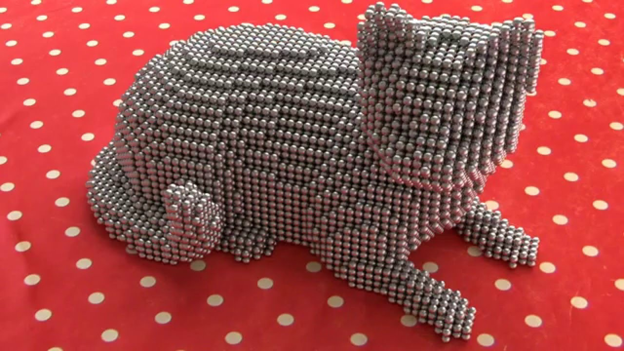 Neocube Zen Magnets Cute Cat Model And Tutorial Youtube