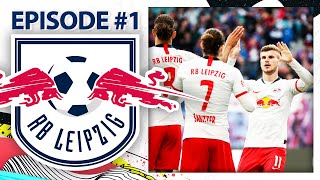 THE GERMAN SLEEPING GIANTS! | RB LEIPZIG CAREER MODE #1
