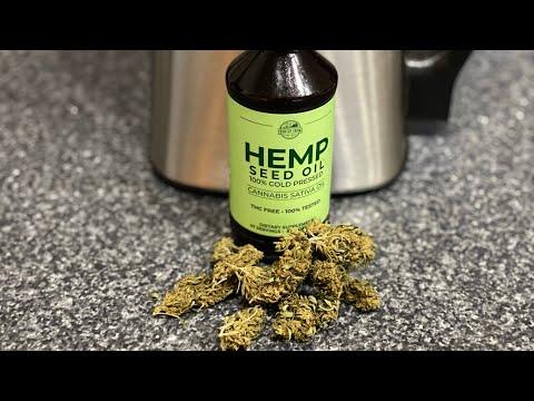 How to make CBD oil! Using hemp seed oil.
