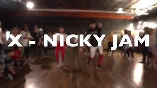 X | Nicky Jam & J Balvin | Dance Choreography by Matt Steffanina | HD Video