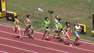 H29千葉県総体陸上大会 共通女子800m決勝 thumbnail