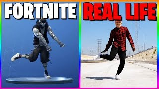 FORTNITE DANCES IN REAL LIFE THAT ARE 100% IN SYNC..! (Billy Bounce, Lock it up)