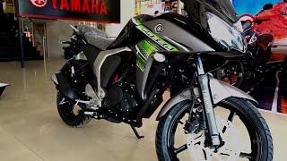 #Bikes@Dinos: Yamaha Fazer Version 2.0 New Colours 2015 Walkaround Review