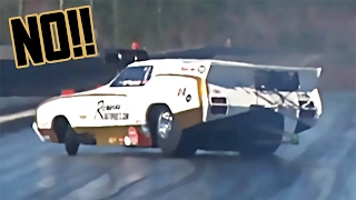Drag Race GONE WRONG - Definition of OH SH*T Moment!