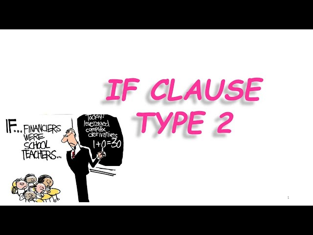 İngilizce Konu Anlatımı | If Clause Type-2 | Conditionals  #ifclause #ingilizcekonuanlatımı